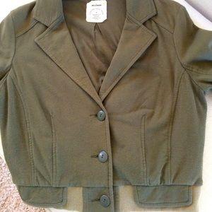 Anthro Allihop Jacket, Olive Green